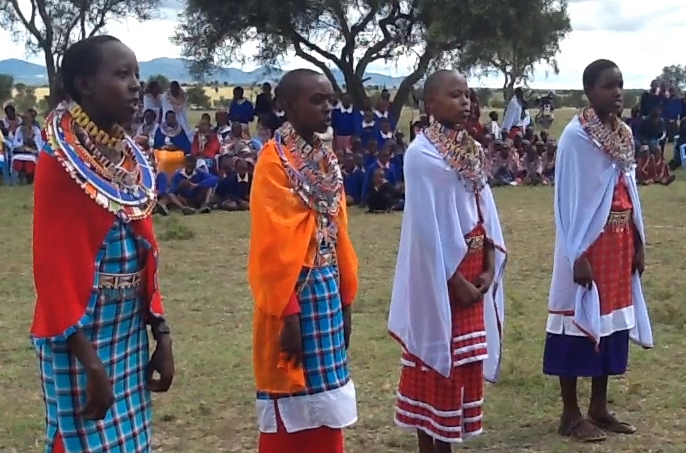 Maasai youth go on a life changing journey back to tradition