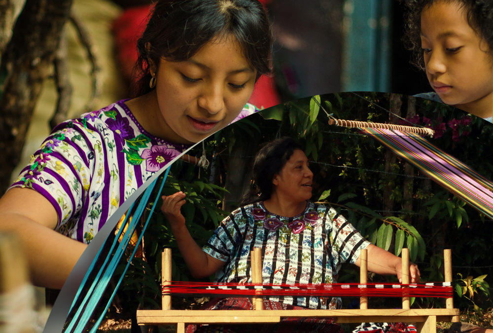 Saq Biey: a community school for life education through the arts of weaving and embroidery of the Maya Tz'utujil People